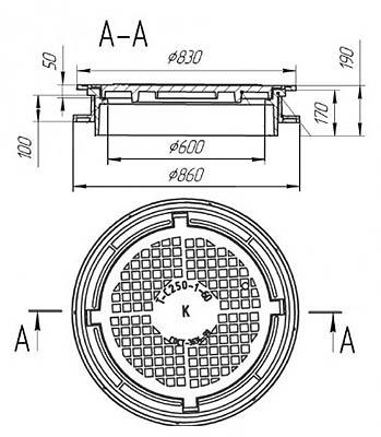 канализационный люк